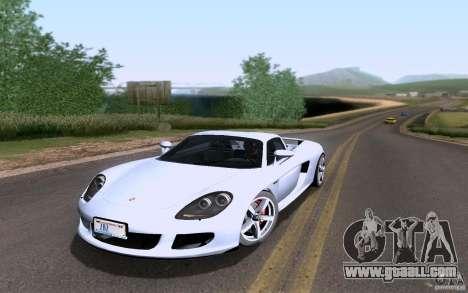Porsche Carrera GT for GTA San Andreas interior