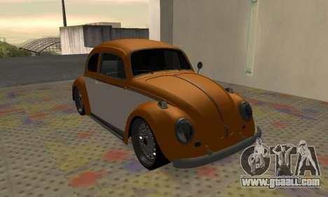 Volkswagen Beetle for GTA San Andreas left view