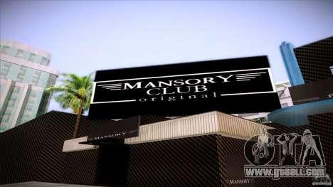 Mansory Club Transfender & PaynSpray for GTA San Andreas third screenshot