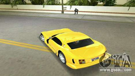 TVR Cerbera Speed 12 for GTA Vice City right view