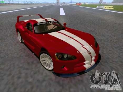 Dodge Viper GTS-R Concept for GTA San Andreas side view