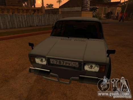 Vaz 2107 Coupe for GTA San Andreas right view