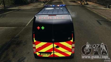 Mercedes-Benz Sprinter Police [ELS] for GTA 4 engine