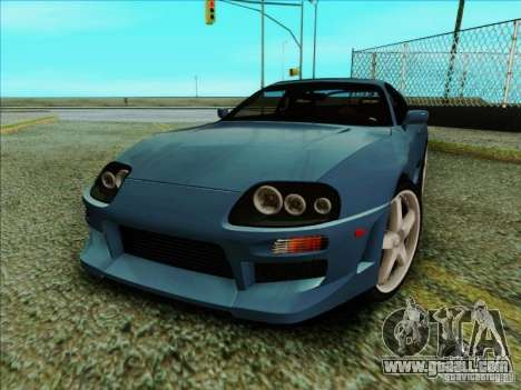 Toyota Supra RZ 1998 for GTA San Andreas left view