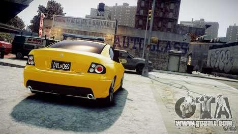 Holden Monaro for GTA 4 left view