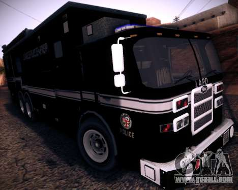 Pierce Contendor LAPD SWAT for GTA San Andreas