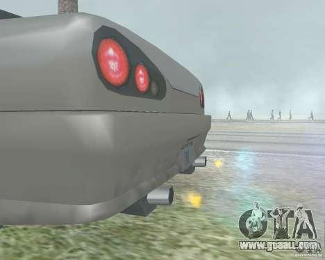 The blur off when using Nitro for GTA San Andreas
