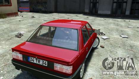 Renault 9 Broadway for GTA 4 back view