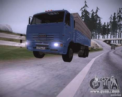 KAMAZ 65117 for GTA San Andreas