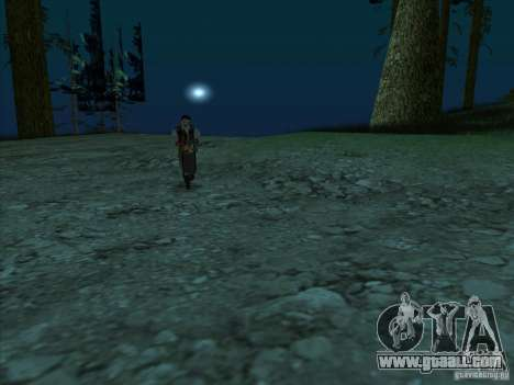 Leatherface for GTA San Andreas third screenshot