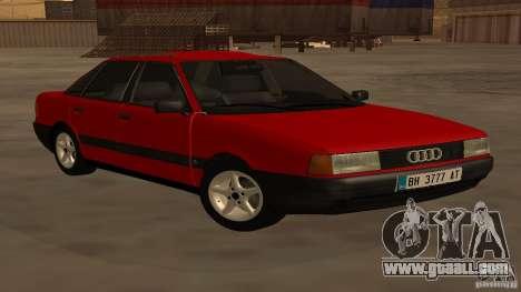 Audi 80 B3 v2.0 for GTA San Andreas