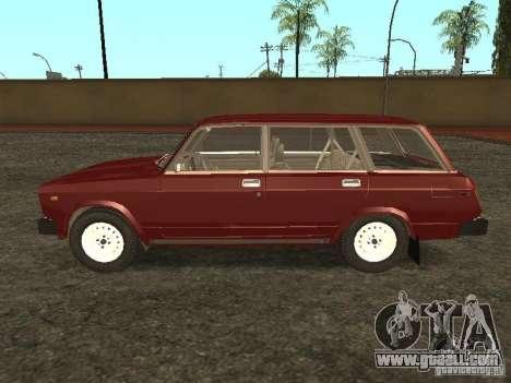 VAZ 2104 v. 2 for GTA San Andreas left view