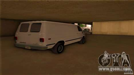 Chevrolet Van G20 for GTA San Andreas