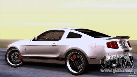 Ford Shelby GT500 Super Snake for GTA San Andreas right view