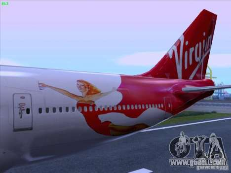 Boeing 747-4Q8 Lady Penelope for GTA San Andreas inner view