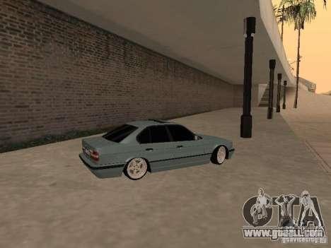 BMW E34 540i V8 for GTA San Andreas left view