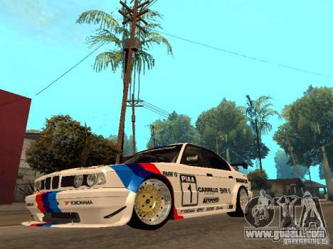 BMW E34 M5 - DTM for GTA San Andreas