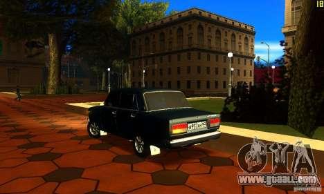 VAZ 2107 v2.0 for GTA San Andreas left view