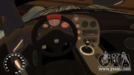Dodge Viper SRT-10 Mopar Drift for GTA 4 back view