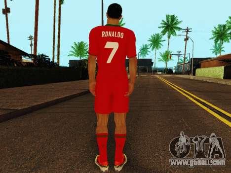 Cristiano Ronaldo v4 for GTA San Andreas