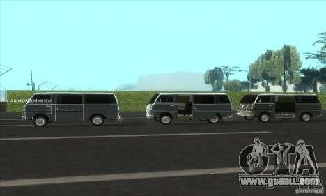 Nissan Caravan E20 for GTA San Andreas inner view