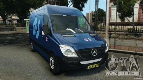 Mercedes-Benz Sprinter G4S ES Cash Transporter for GTA 4