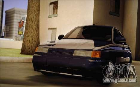 VAZ 2110 Drain for GTA San Andreas back view