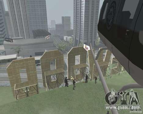 Vinewood-restricted area for GTA San Andreas third screenshot