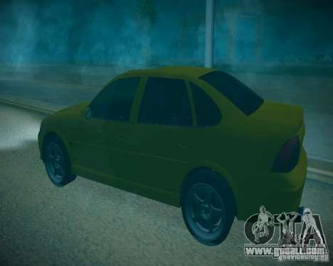 Opel Vectra B for GTA San Andreas side view