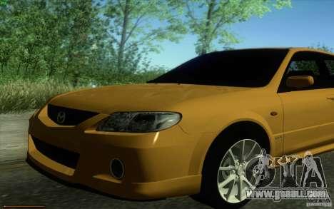 Mazda Speed Familia 2001 V1.0 for GTA San Andreas right view