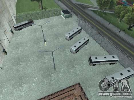 Bus Park version v1.2 for GTA San Andreas