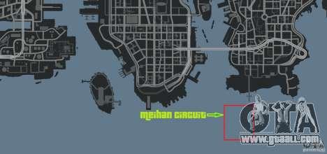 Meihan Circuit for GTA 4 ninth screenshot