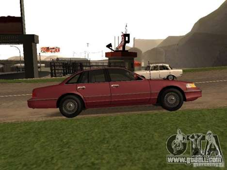 Ford Crown Victoria LX 1994 for GTA San Andreas left view