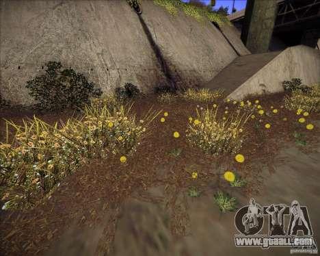 New grass for GTA San Andreas third screenshot