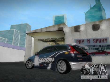 Volvo C30 Race for GTA San Andreas back view