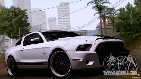 Ford Shelby GT500 Super Snake for GTA San Andreas
