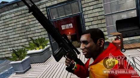 SIG SG 550 Sniper for GTA 4 third screenshot