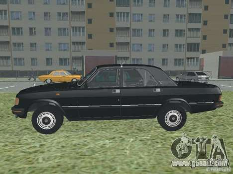 Volga GAZ 31029 for GTA San Andreas left view
