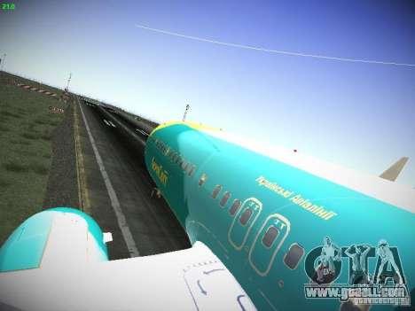 Boeing 737-84R AeroSvit Ukrainian Airlines for GTA San Andreas back view