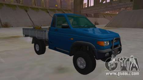 UAZ-2360 for GTA San Andreas back view