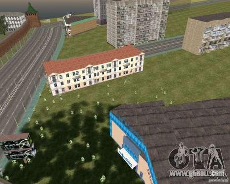 Nižegorodsk v0.1 BETA for GTA San Andreas second screenshot