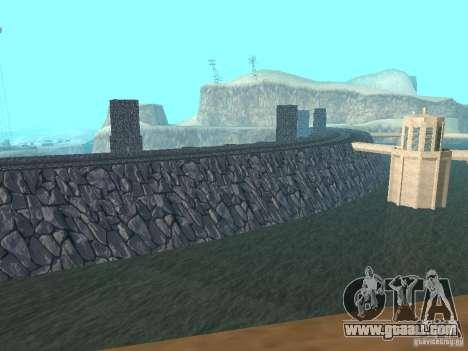 The new dam for GTA San Andreas third screenshot
