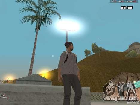 Skin Hipster v1.0 for GTA San Andreas