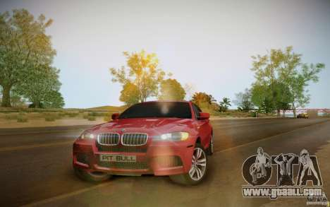 BMW X6 v1.1 for GTA San Andreas left view