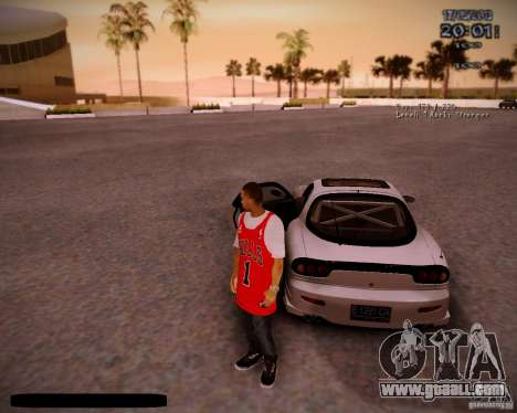 Skin Chicago Bulls for GTA San Andreas fifth screenshot