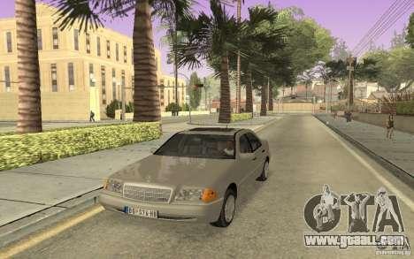 Mercedes Benz C220 for GTA San Andreas