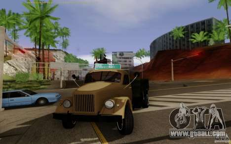 GAZ 51 for GTA San Andreas left view