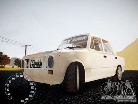 Vaz-2101 Drift Edition for GTA 4 inner view