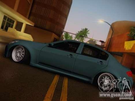 Infiniti G37 Sedan for GTA San Andreas side view