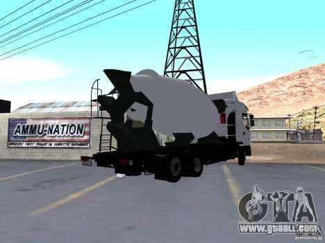 Renault Premium Mixer for GTA San Andreas left view